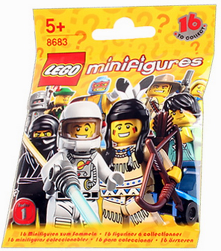 LEGO Series 1 Collectible Minifigure ROBOT ~ Rare ~ NEW SEALED #8683-7