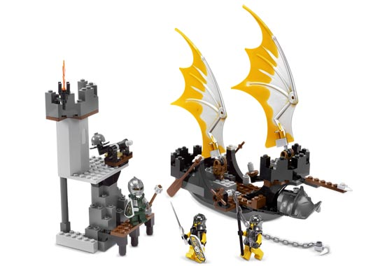 Bricklink Set 8821 1 Lego Rogue Knight Battleship Castle