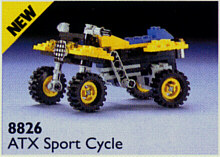 BrickLink - Set 8826-1 : Lego ATX Sport Cycle [Technic:Model:Off-Road] -  BrickLink Reference Catalog