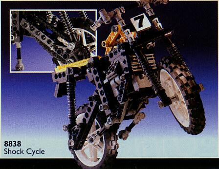 BrickLink - Set 8838-1 : Lego Shock Cycle [Technic:Model:Riding Cycle] -  BrickLink Reference Catalog