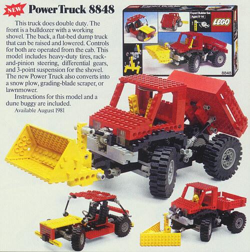 Bricklink Set 8848 1 Lego Power Truck Technicexpert Builder