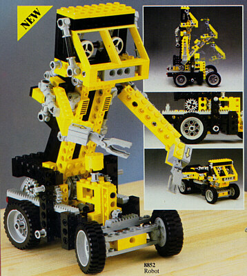 BrickLink - Set 8852-1 : Lego Robot [Technic:Model:Robot ...