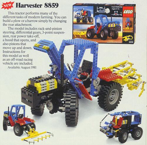 Bricklink Set 8859 1 Lego Tractor Technicexpert Builder