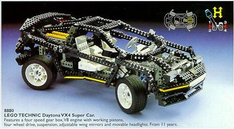 Bricklink Set 8880 1 Lego Super Car Technic Model Traffic Bricklink Reference Catalog