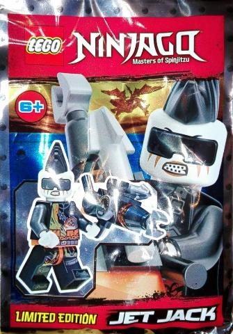 JET Jack 891840 LEGO NINJAGO Polybag Limited Edition