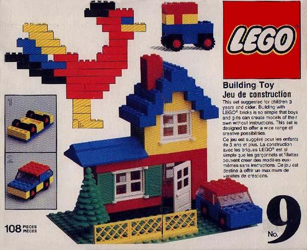 Bricklink Set 9 1 Lego Universal Building Set Universal