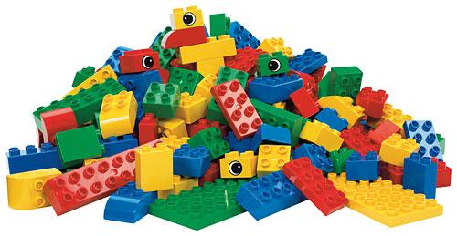 BrickLink - Set 9027-1 : Lego DUPLO Large Bulk Brick Set ...