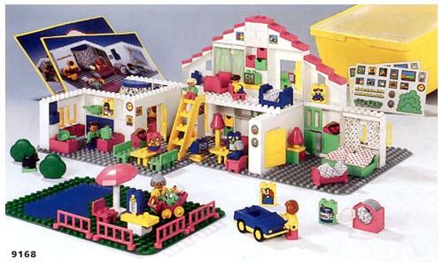 Bricklink Set 9168 1 Lego Large Duplo House Educational Dacta