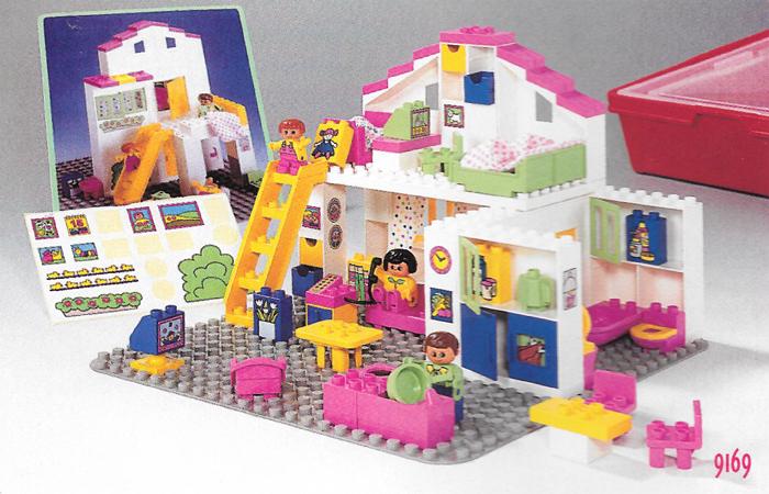 Bricklink Set 9169 1 Lego Medium Duplo House Condominium