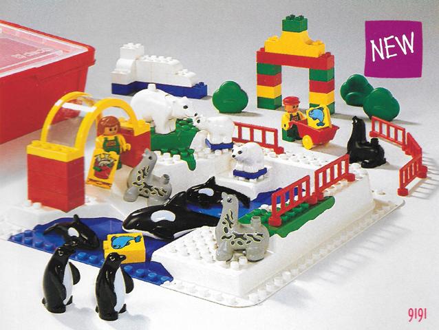 BrickLink - Set 9191-1 : Lego DUPLO Animal Water Park [Educational ...