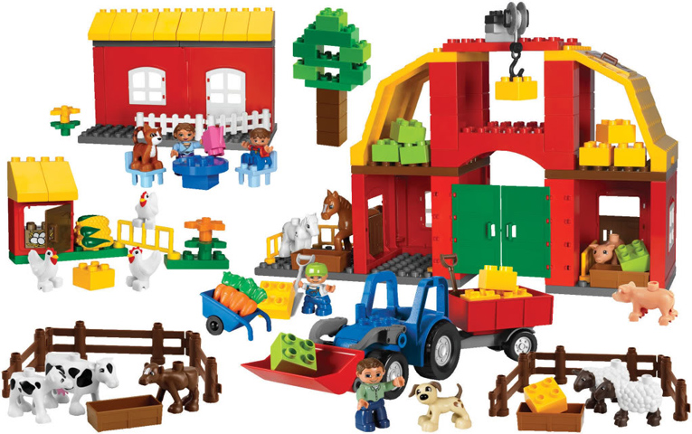 Bricklink Set 9217 1 Lego Farm Set Educational Dactaduplo