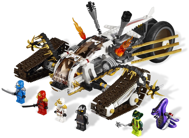 LEGO NINJAGO 9449 Spitta Minifigure NEW
