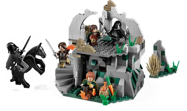 Bricklink Set 9472 1 Lego Attack On Weathertop The Hobbit And