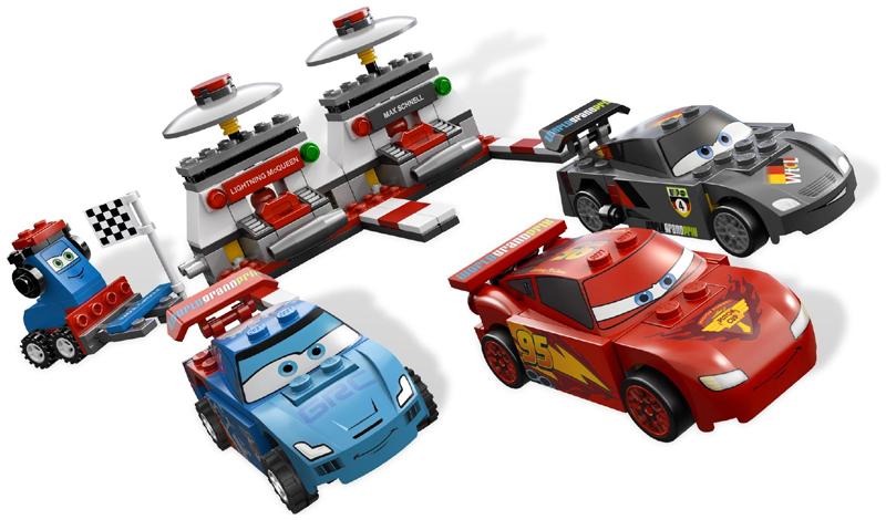BrickLink - Set 9485-1 : Lego Ultimate Race Set [Cars] - BrickLink  Reference Catalog