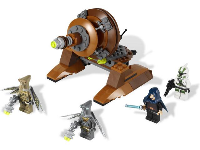 BrickLink - Set 9491-1 : Lego Geonosian Cannon [Star Wars:Star ...