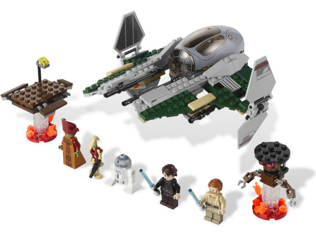 Bricklink Set 9494 1 Lego Anakins Jedi Interceptor Star Wars