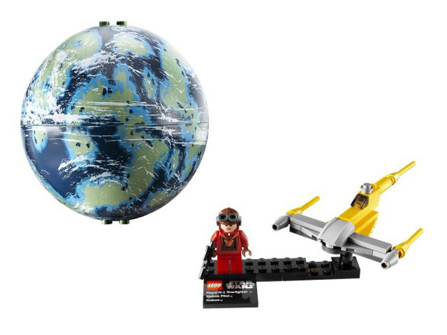 LEGO Star Wars 9674 Naboo Starfighter /& Naboo NEW