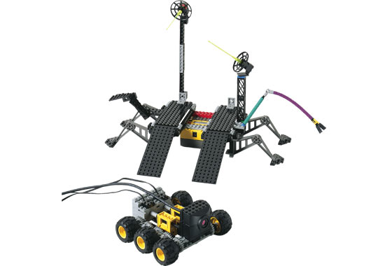BrickLink - Set 9736-1 : Lego Exploration Mars [Mindstorms:RCX