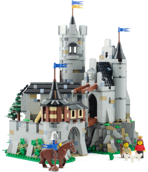 Bricklink Set Bl19001 1 Lego Lowenstein Castle Loewenstein Lowenstein Afol Designer Program Bricklink Reference Catalog