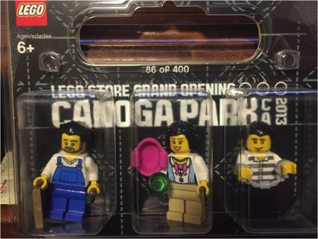 BrickLink - Set CanogaPark-1 : Lego LEGO Store Grand Opening ...