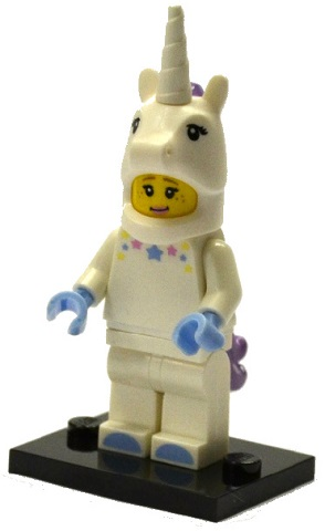 Lego Unicorn Girl col13 Collectible Minifigure