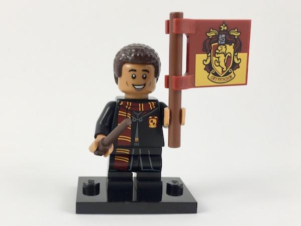 LEGO FIGURINE POLYBAG MINIFIGURINE HARRY POTTER N° 8 DEAN THOMAS GRYFFONDOR