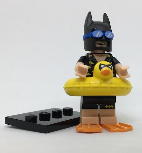 Lego Batman Movie Series 1 Vacation Batman  Minifigure