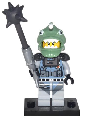 BrickLink - Set coltlnm-13 : Lego Shark Army Angler, The