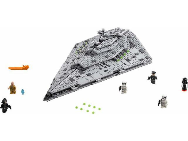 Lego Star Wars Episode 8 Set 75190 First Order Star Destroyer Brand New In Box