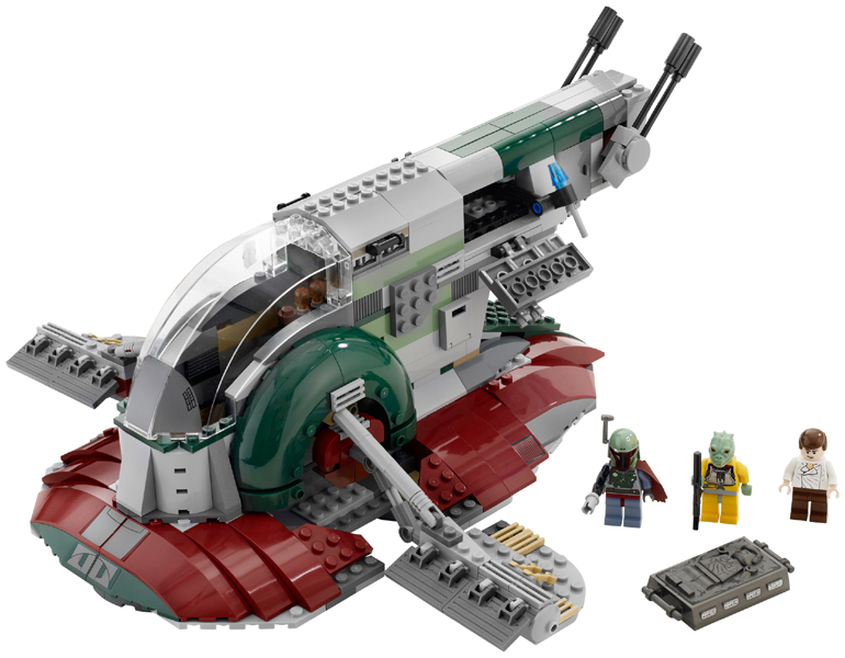 Bricklink Set 8097 1 Lego Slave I 3rd Edition Star Warsstar