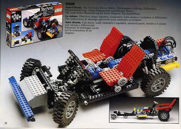 BrickLink - Set 8860-1 : Lego Car Chassis [Technic:Expert