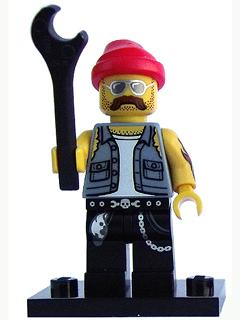 Lego Motorcycle Mechanic - Complete Set