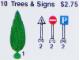 Set No: 10  Name: Tree and Signs