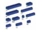 Set No: 10009  Name: Assorted Blue Bricks