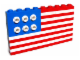 Set No: 10042  Name: American Flag polybag
