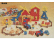 Set No: 1040  Name: Farm - 76 elements and a picture book (1986 version)
