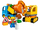 Set No: 10812  Name: Truck & Tracked Excavator