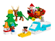 Set No: 10837  Name: Santa's Winter Holiday