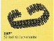 Set No: 1149  Name: Bulldozer Chainlinks