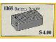 Set No: 1168  Name: Battery Box