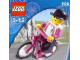 Set No: 1196  Name: Biker with Bicycle