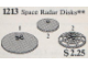 Set No: 1213  Name: Space Radar Disks