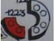 Set No: 1223  Name: 2 x 2 Curved Bricks