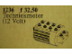 Set No: 1236  Name: 12V Technic Motor