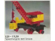 Set No: 128  Name: Mobile Crane (Train Base)