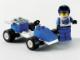 Set No: 1282  Name: Blue Racer