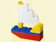 Set No: 1298  Name: Advent Calendar 1998, Classic Basic (Day  5) Sailboat