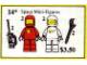Set No: 14  Name: Space Mini-Figures
