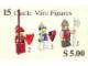 Set No: 15  Name: Castle Mini Figures
