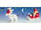 Set No: 1628  Name: Santa on Sleigh with Reindeer